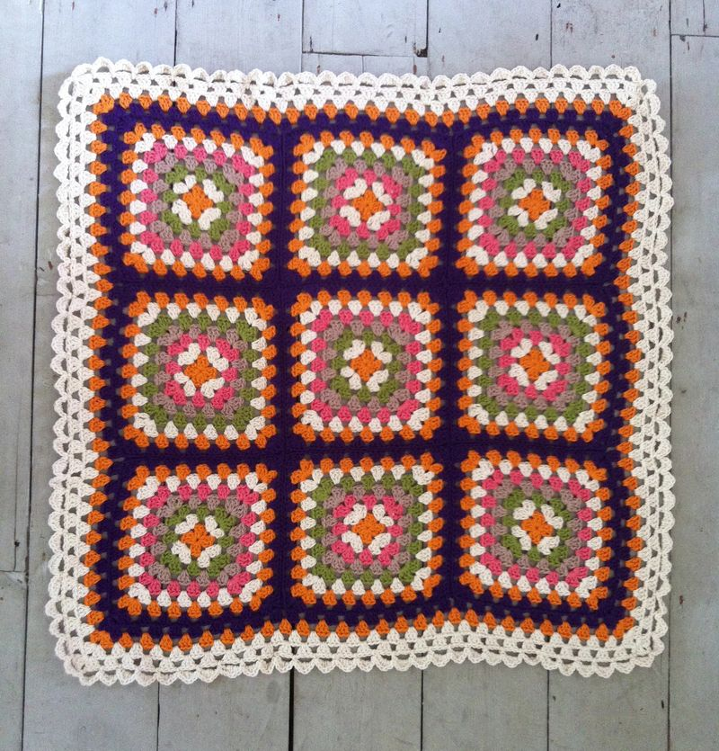 Retro blanket whole
